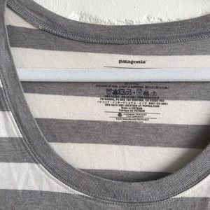 Patagonia Dresses - Patagonia TShirt Dress Striped Medium EUC